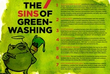 Greenwashing.  / (greenwash) A false or misleading picture of environmental friendliness used to conceal or obscure damaging activities. / by Candice Batista
