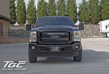 "Customer Build: 2011 Ford F250 Super Duty w/ 6"" TGC Stage 2 Suspension Lift Kit / by Top Gun Customz"