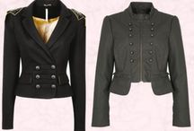 Jacket statement / What u wear over things / by Ann-Marie Thalken