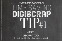 Digital Scrapbook Tutorials / by Peppermint Creative