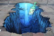 3D Pavement Art..... / by Kristy Waer-Hayes