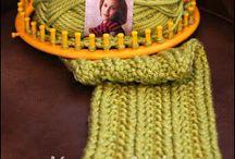 Loom knitting / by Brenda Leady