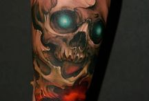 Skull tattoo / by Anthony Jones
