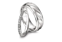 Ladies' Platinum Wedding Bands / Platinum's enduring beauty make it the ultimate wedding band metal symbolizing lifelong love.  / by Platinum Jewelry