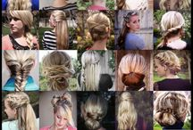 Fun Hair Ideas / by Courtney Dills