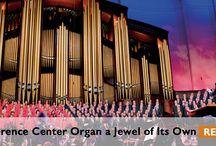 Pipe Organs / The pipe organs that have accompanied the Choir. / by Mormon Tabernacle Choir