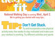 National Walking Day (April 2) / by Heart Of Greater Washington Region