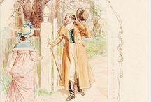CE Brock Images / Jane Austen Images of CE Brock / by David Wilkin