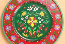 Folk Art Painting - Sweden / by Corkie L Gott