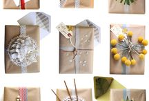 Gift Wrapping Ideas / Make room for a wrapping paper door, closet, or corner. Find inspiration to dress up any gift! / by Evite