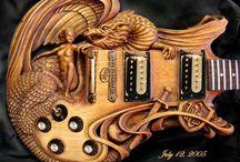 """""""Horizontal Guitarz"""" / by John Beacher"""