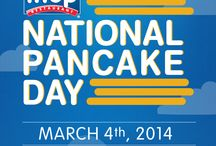 IHOP's National Pancake Day / IHOP's National Pancake Day is a delicious way to support Children's Miracle Network Hospitals and other local charities! / by IHOP