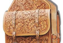 Tooled Leather / art quality hand tooled leather products / by Beverly Ashley