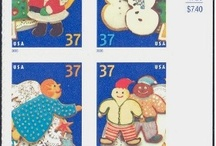 Christmas Postage Stamps / by Linda Eastman