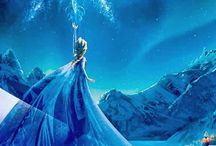 Frozen party / Frozen theme movie night party :) / by Jill Cappaert