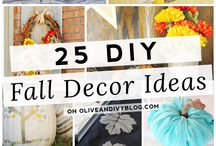 fall decor / by Chelsea Olivia // Olive & Ivy