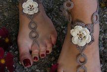 Crochet BareFoot Sandles / by Maria Alvarado