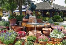 Planter & Small Gardens / Small space gardens - planter gardens - potting tables and sheds / by John Dunney