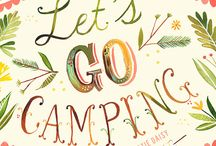 let's go camping / by Courtney Johnston
