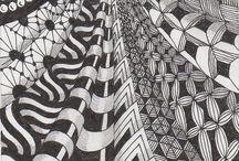 Zentangle patterns / by Sherri Hinkle