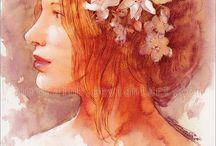 Faces I Love / by Darya Solomenko