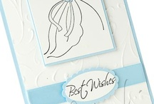 Bride/Wedding Cards SU / by Cathy Dawe