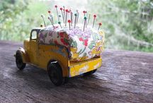 pincushions / by Cluttered Quilter