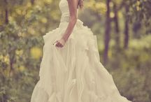 I'm happily married but love looking at wedding dresses / by Ashley Franklin