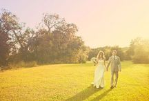 color: sun-kissed / wedding day inspiration based on the colors of a summery day / by kristin austin