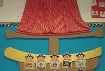 Pirates & Knights-Πειρατές & Ιππότες / Pirates and knights- crafts for preschoolers, worksheets and games  / by Elena Makri