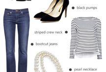 wardrobe basics / by Vanessa Sanchez-Hoeksema