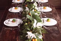 Dishes, table settings & center pieces / Dishes, table settings,  / by Anita Moyer