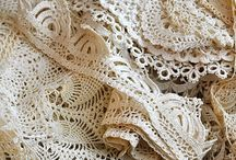Crocheted Lace / by Kim Dickinson