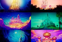 """Disney / There is nothing, NOTHING, as magical as Disney. The young and the old all adore it! """"I just hope that people remember that it all started with a mouse."""" -Walt Disney / by Rachel Dalton"""