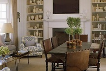 dining room swap with living room / by Maureen Derwent