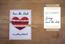 Stellar save the dates / by Brittany Spencer