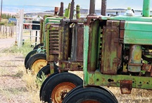 Vintage Tractors / by Roselyn Tubman