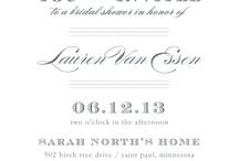 Bridal Shower Invitations / by MyPublisher
