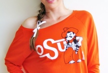 Oklahoma State Styles from CollegeHautees.com / Haute Oklahoma State Styles Sold By College Hautees. Shop at http://www.collegehautees.com/shop-school/oklahoma-state-cowboys/ / by College Hautees