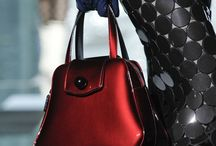 The Big Bag Theory / A woman's mind is as complex as the contents of her handbag; even when you get to the bottom of it, there is ALWAYS something at the bottom to surprise you!