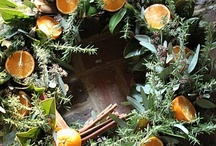 Wreaths and other things for my front door... / by Glennie B