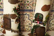 tejas decoradas / artesania y manualidades Mariana / by Mari Carmen Garcia Martos