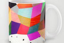 Mugs / by Society6