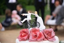 Cycling Weddings / Getting on your bike and getting married or maybe just renting one for background scenery / by Nathan {Artemis Stationery}
