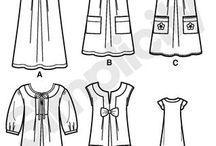 Sewing patterns both vintage & modern / by Kate & Rose