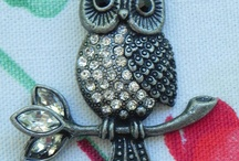 Jewelry / Selection of both vintage and handmade Jewelry / by Patty Roberts Wolfer