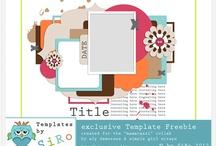 Scrapbook template / by Chloe Aquamarine