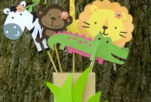 Jungle/Zoo party / by Heather
