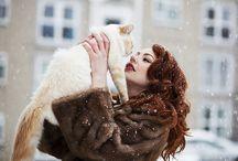 Cats & Cat People / by Nancy Lorene