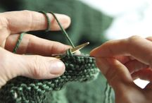 knitting / by Frieda Anderson